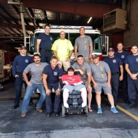 Fill the boot group photo 2018