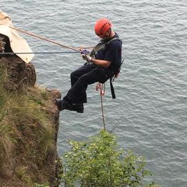 High Angle at Presque Isle- Wilder